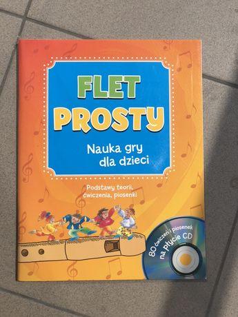 Flet prosty - nauka gry dla dzieci