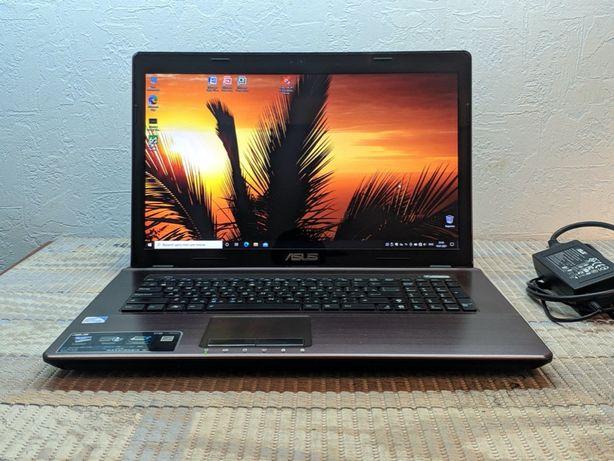 """Большой ноутбук 17.3"""" Asus intel 8GB Корпус металл Состояние нового"""