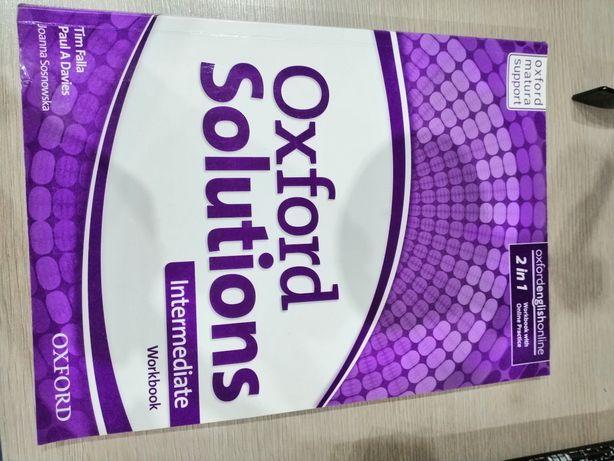 Ćwiczenie Oxford solutions intermediate