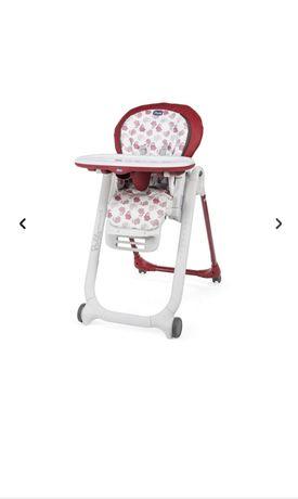 Chicco cadeira papa polly progress5 edição especial Red