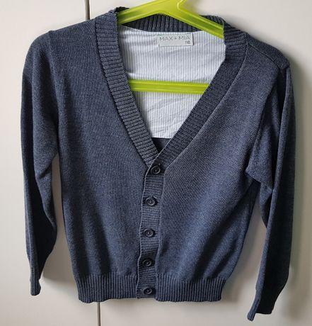 Sweterek 5-10-15 r. 116 NOWY