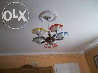 Lampa wisząca 5 ramienna