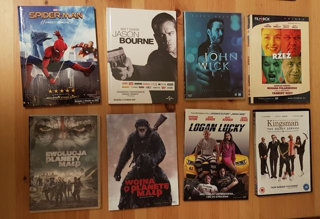 Filmy na DVD z prywatnej kolekcji #2