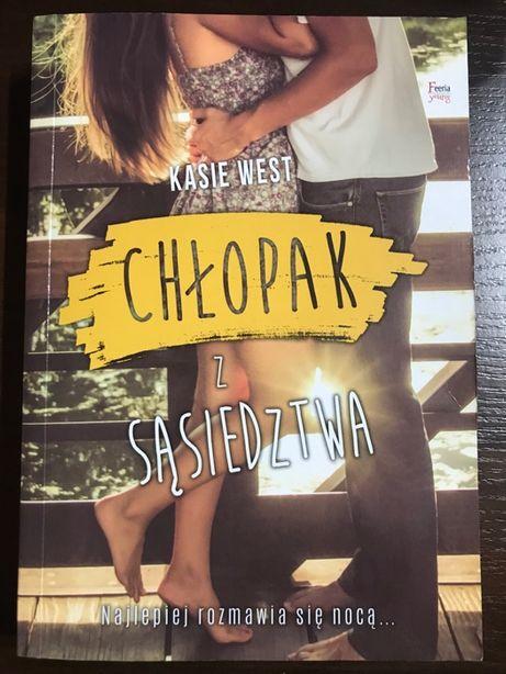"""""""Chłopak z sąsiedztwa"""" Kasie West"""