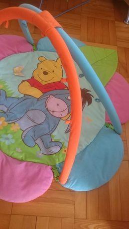 Dwustronna mata do zabawy dla niemowlat niemowlaka