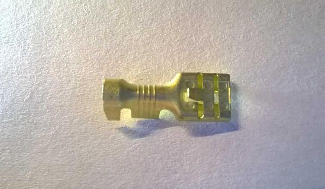 50 Terminais de encaixe 6.3mm (L) Fio de 2 a 6mm2