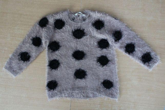 Sweter w groszki