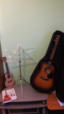 Уроки гри на 6 струнній гітарі та укулеле
