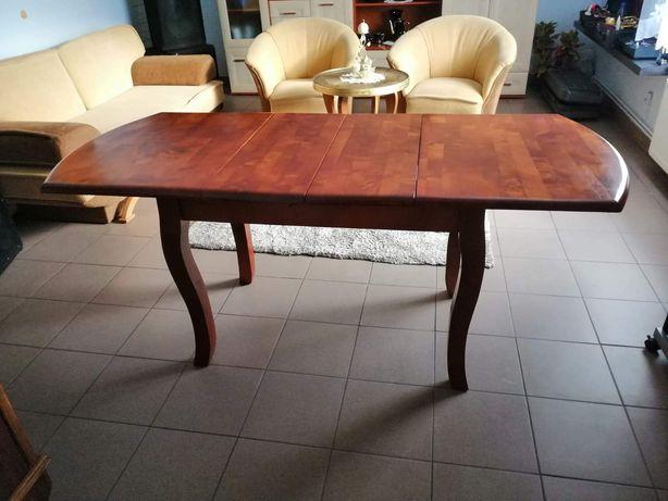 Stół z drewna wiśniowego