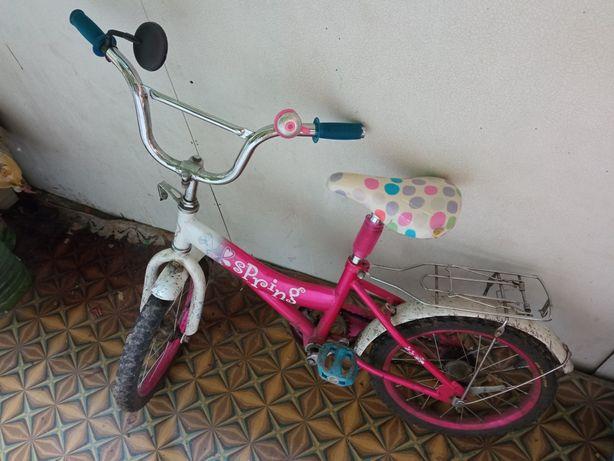 Велосипед для девочки от 3-х лет