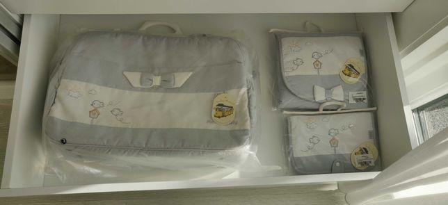 Saco para muda fraldas, muda roupa documentação de maternidade