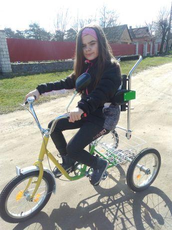 Терміново!!Продам трьох колісний велосипед для дитини з інвалідністю