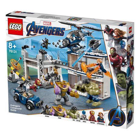 LEGO Marvel Avengers 76131 O Combate no Quartel dos Vingadores
