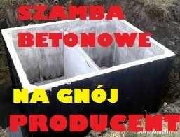 MASYWNE szambo betonowe na gnojowice Zbiornik betonowy 11m3