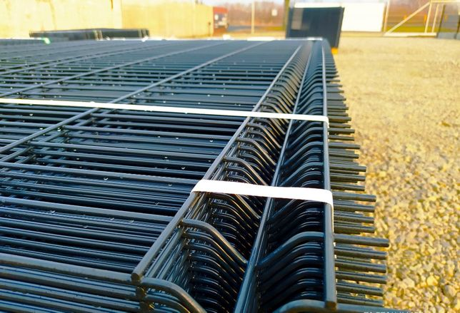 Panele ogrodzeniowe Zn+RAL Ø5,0mm, H-1530mm, oczko 50x200mm