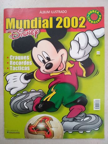 Álbum ilustrado do Mundial 2002 da Disney