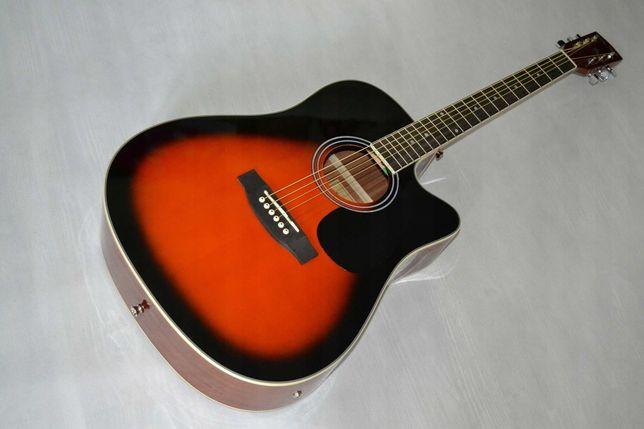 PRZECENA! Harley Benton D-120 VS gitara elektroakustyk- dostawa gratis