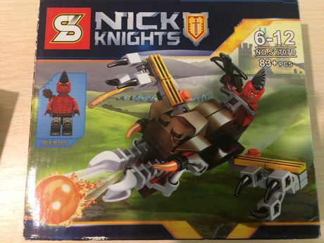 Конструктор Nick Knights SY707 (Аналог Lego Nexo Knights)