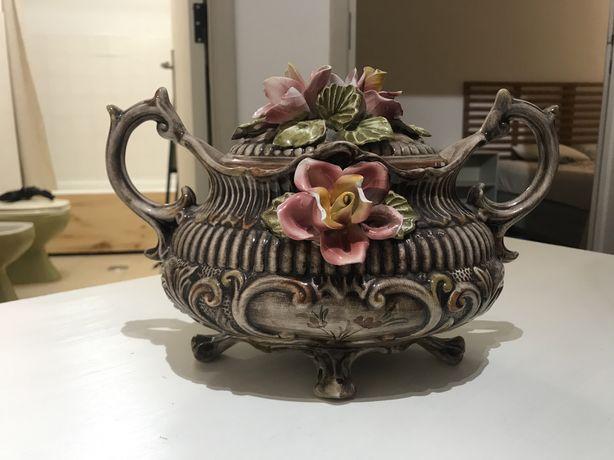 Vaso decorativo de flor