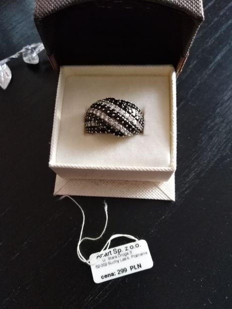 Apart pierścionek srebrny 925