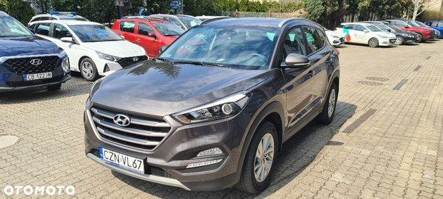 Hyundai Tucson Kupiony w Polski Salonie, serwisowany w ASO, na gwarancji fabrycznej!