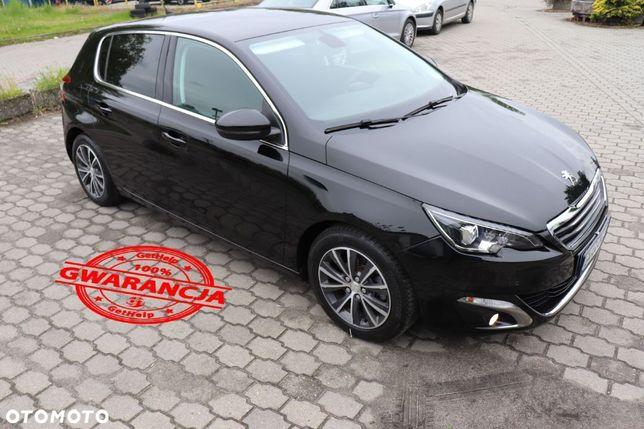 Peugeot 308 1.6 E HDi ''ALLURE STYLLE '' Full Led Navi Parki Tablet 1 Właściciel !