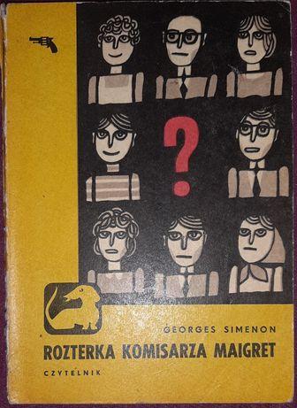 Georges Simenon - Rozterka komisarza Maigret. Seria z jamnikiem