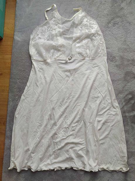 Koszulka nocna ecru XL