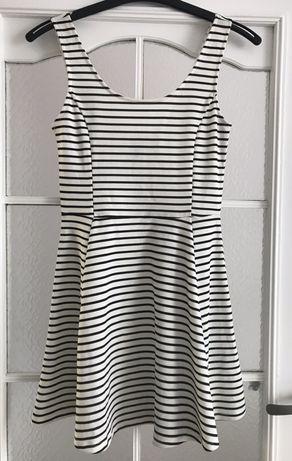 Sukienka w paski H&M rozmiar 36