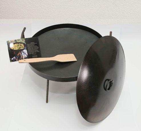 Сковорода з диска 40см
