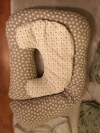 Poduszki do karmienia niemowląt + pokrowiec