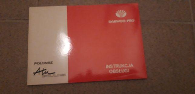 Instrukcją obsługi polonez atu plus
