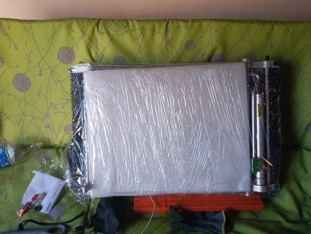 Радіатор основний і кондеціонера на шевроле авео т250
