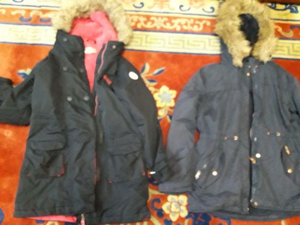 Куртка парка да девочку до 12 лет