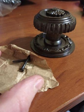 Медные дверные ручки,Индия,ручная работа.