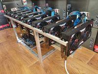440 mh/s Новая майнинг ферма на видеокартах Sapphire Rx 5700 ХТ Pulse