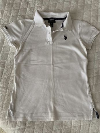 Женское поло футболка U.S. polo assn XS