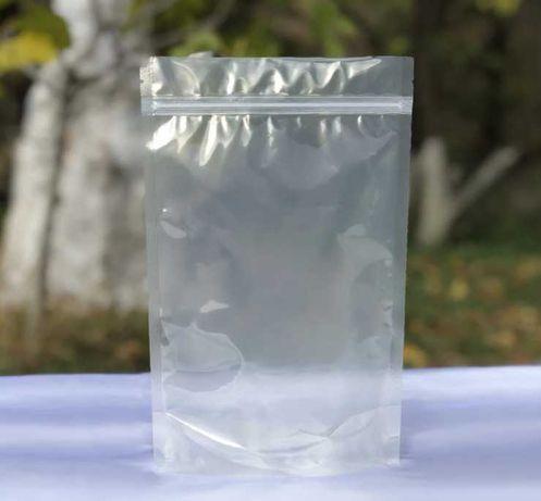Дой-пак 100х170х30 (50г) ПРОЗРАЧНЫЙ zip-замок Упаковка. Пакет