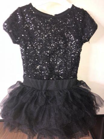 Sukienka tutu cekiny śliczna
