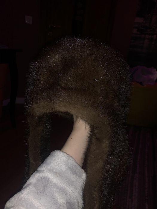 продам норковую шапку ушанку Иванковичи - изображение 1