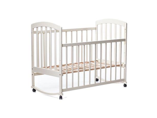 Кроватка для новорожденного Laska M ваниль Новая!