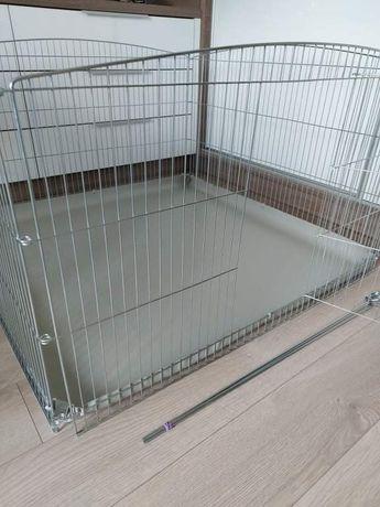 Kojec 100x100 dla małego psa, szczeniaka, świnki, królika