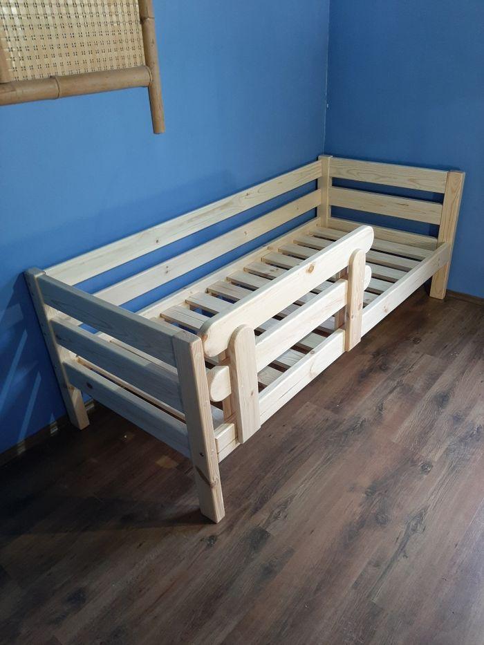 Кровать деревянная нота 80х190 ліжко деревянне. Киев - изображение 1