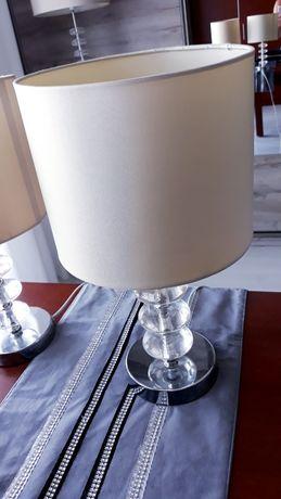 Zestaw lamp podlogowa i 2 sztuki stołowa ecru/złamana biel