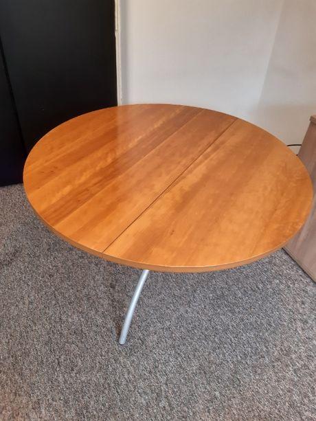 Stół okrągły drewno/metal.