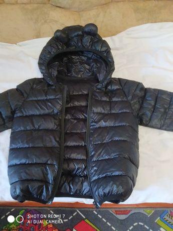 Продам черную стильную курточку