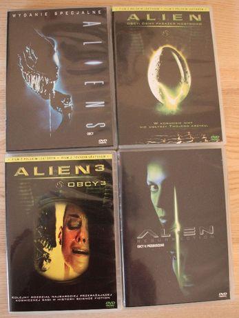 Obcy - Alien filmy DVD 4 części, jak nowe