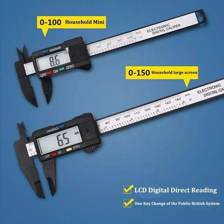 Электронный цифровой дисплей штангенциркуль 0-150 мм 0-100 мм Пластико