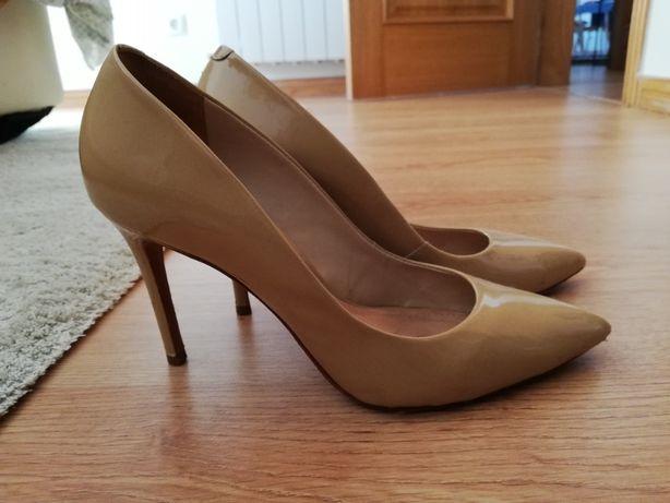 Sapato senhora Schutz rosa pálido