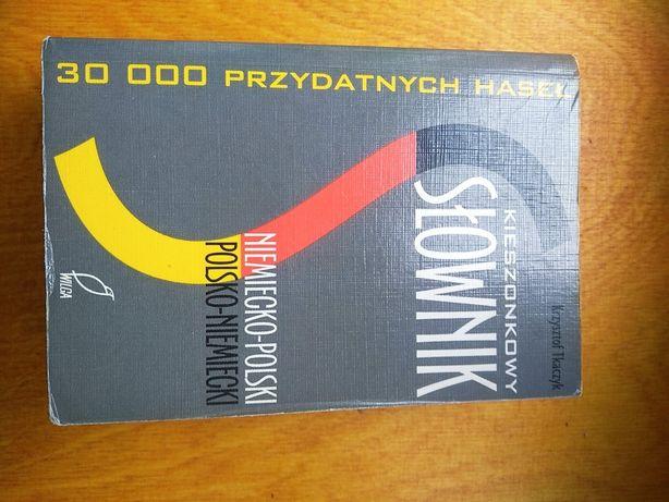 Słownik kieszonkowy niemiecko-polski 30000 haseł